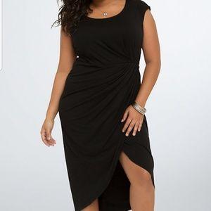 Torrid Black Tulip Dress 3 2x 3x